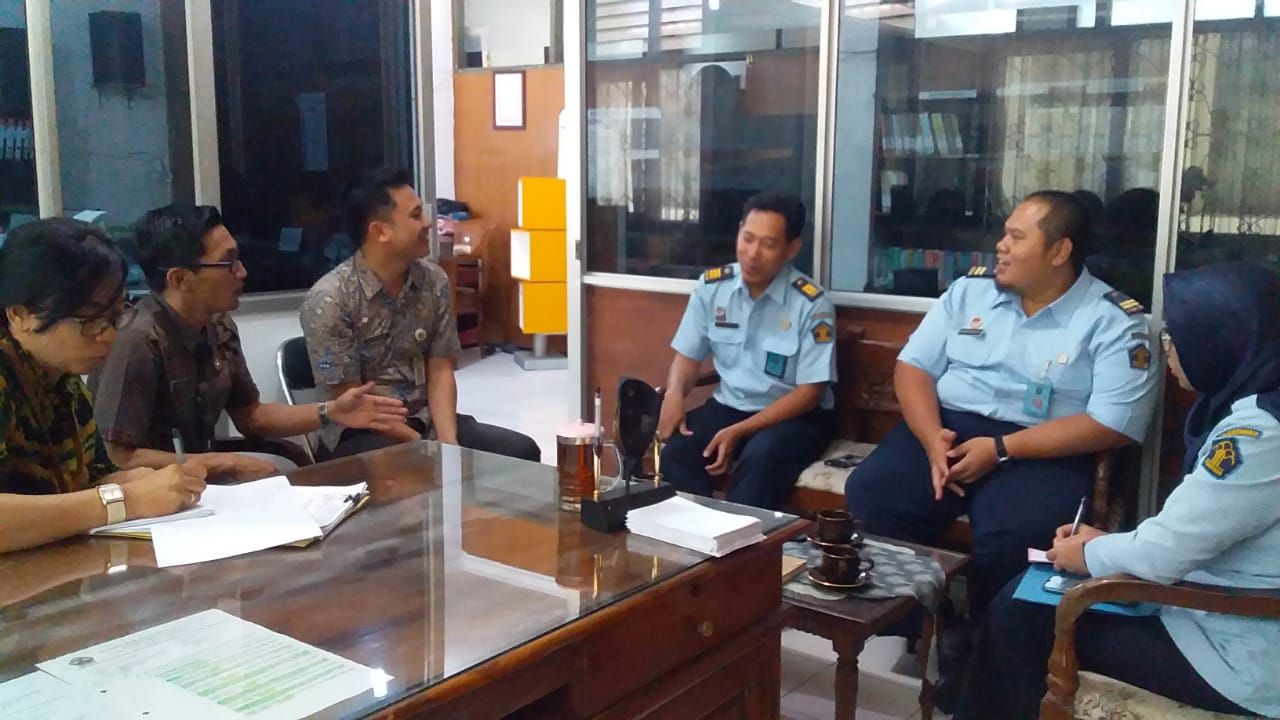 Image Koordinasi dengan KEMENKUMHAM Provinsi Jawa Tengah