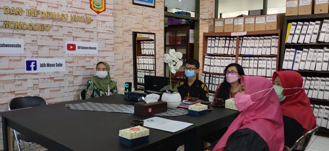 Image JDIH Kabupaten Wonosobo Menerima Kunjungan dari BPK Jawa Tengah